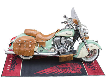 Indian Motorcycle Bike Mat
