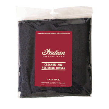 Super Plush M/F Towel-Twin Pack by Indian Motorcycle®