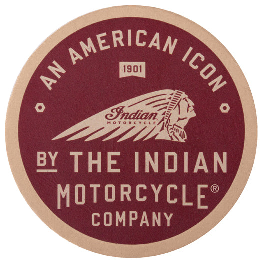 American Icon Leather Patch by Indian Motorcycle®