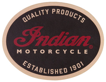 Indian Motorcycle Quality - Leather patch