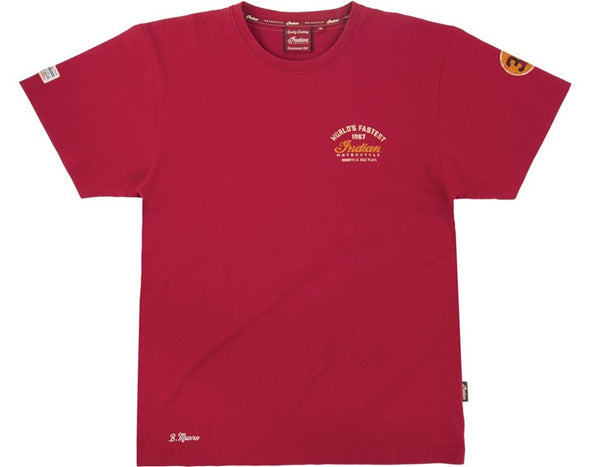 Men's Munro Speed Record T-Shirt -Red Size S