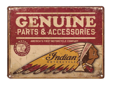 Genuine Parts & Accessories Sign