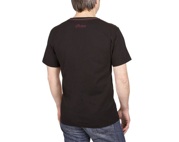 Men's T-Shirt with Vintage America's Logo -Black Size S