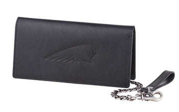 Biker Chain Wallet, Black by Indian Motorcycle®