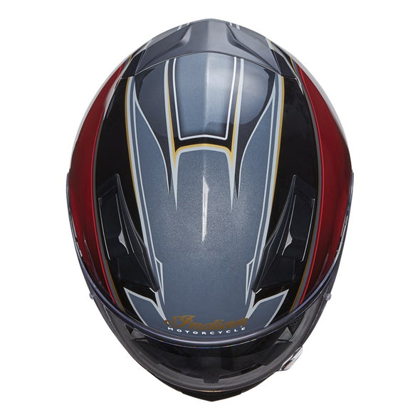 Full Face Outpost Helmet, Red/Black by Indian Motorcycle®