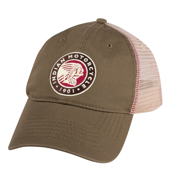 Circle Icon Trucker Hat by Indian Motorcycle®