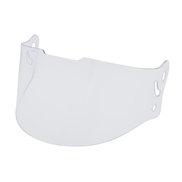 Full Face Retro Helmet Visor -Clear
