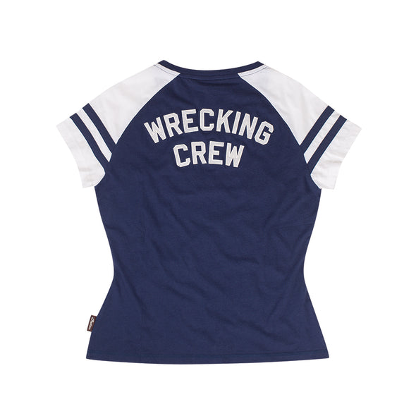 Women's Navy SS Wrecking Crew Tee by Indian Motorcycle®