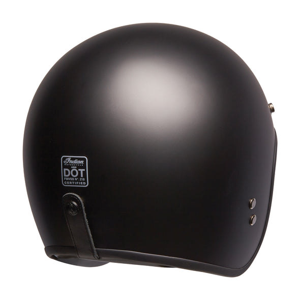 Matte Black Retro Open Face Helmet by Indian Motorcycle®