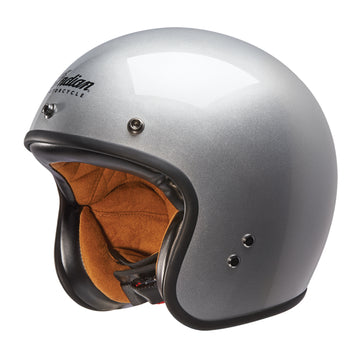 Silver Retro Open Face Helmet by Indian Motorcycle®