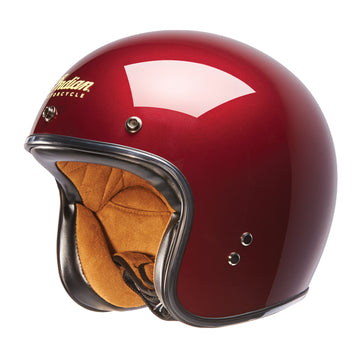 Red Retro Open Face Helmet by Indian Motorcycle®