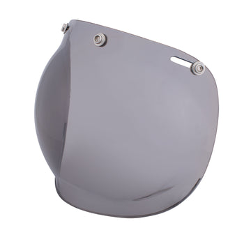 Grey Retro Open Face Helmet Bubble Visor by Indian Motorcycle®