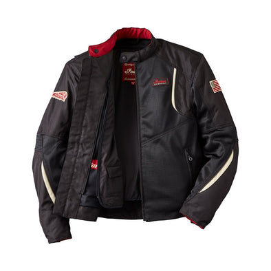 Men's Mesh Springfield 2 Riding Jacket with Removable Lining -Black