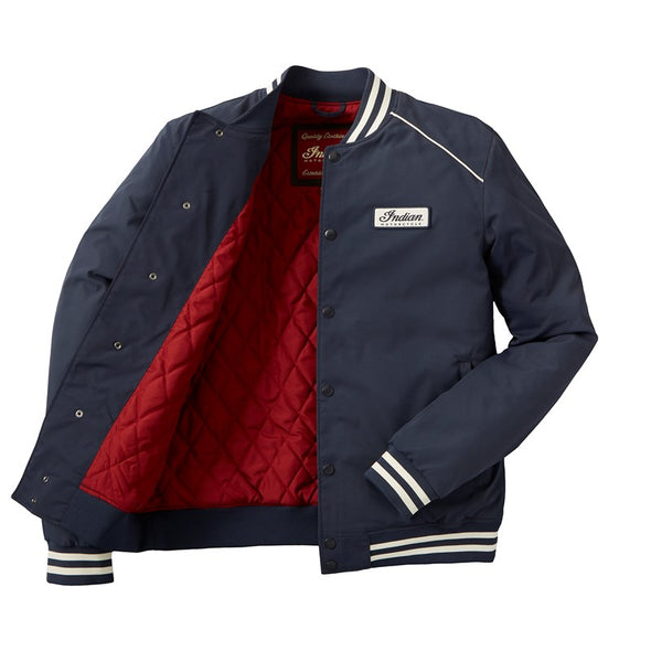 Men's Casual Retro Bomber Jacket -Navy