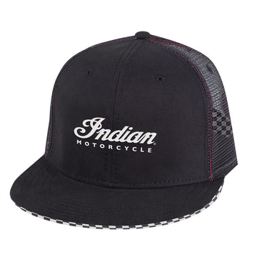 Indian Motorcycle - Checkered Hat