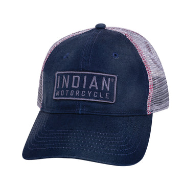 Indian Motorcycle - Block Patch Hat
