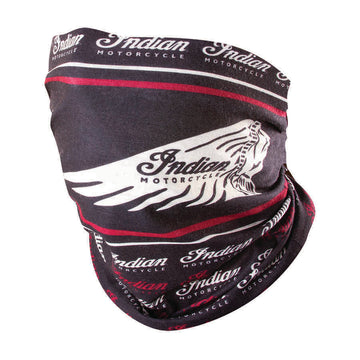 Headdress Multi functional Headwear, Black/Red by Indian Motorcycle®