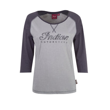 Women's Logo Raglan Tee by Indian Motorcycle®