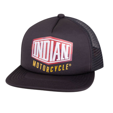 Camo Logo Trucker Hat by Indian Motorcycle®