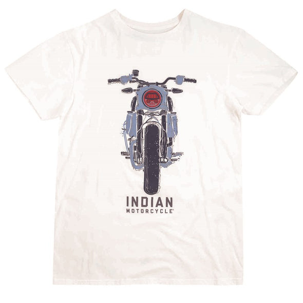 Men's FTR Front T-Shirt -Antique White