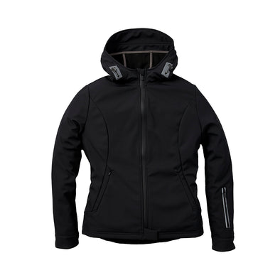 Women's Casual Softshell Jacket -Black