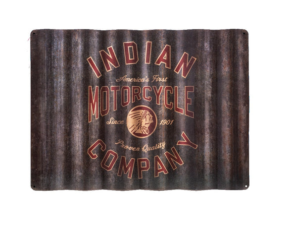 Indian Corrugated Sign by Indian Motorcycle®
