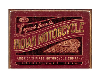 Legend Lives Sign by Indian Motorcycle®