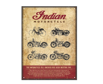 Montage Sign by Indian Motorcycle®