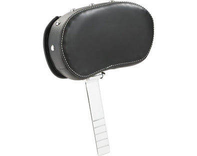 Rider Backrest Pad -Black W/Studs