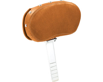 Rider Backrest Pad -Desert Tan W/Studs