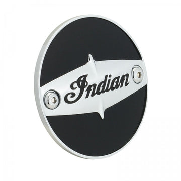 Pinnacle Cam Cover Thunder Black by Indian Motorcycle®