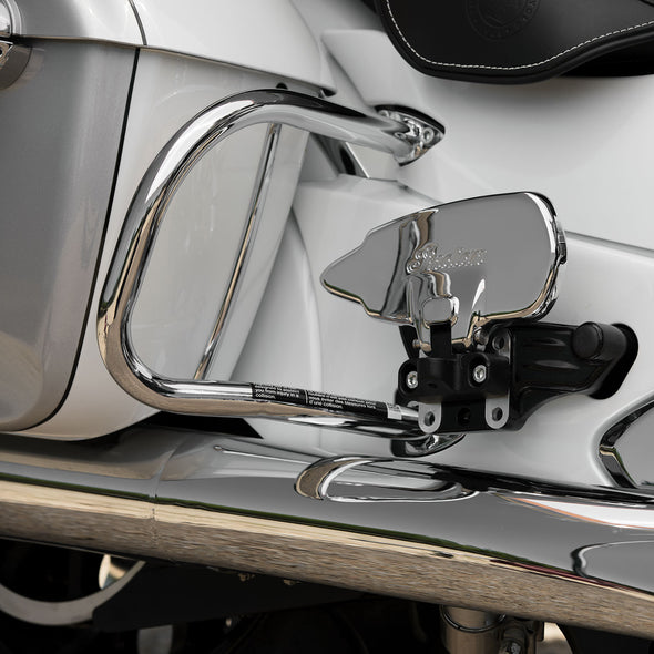 Steel Rear Highway Bars, Pair -Chrome