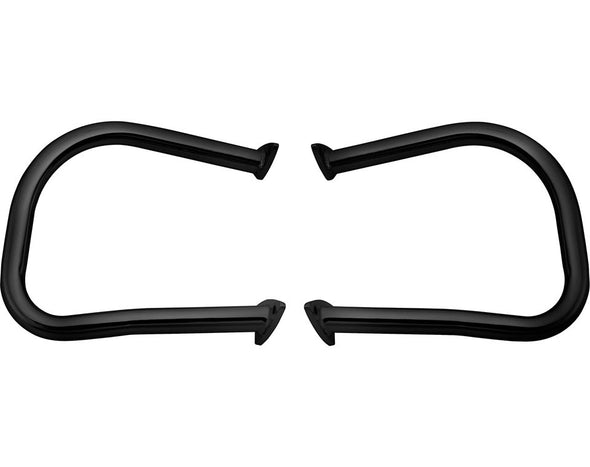 Steel Rear Highway Bars, Pair -Black