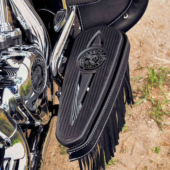 Headdress Rider Floorboard Pads in Polished, Pair