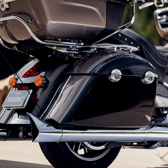 Thunder Stroke Stage 1 Slip-On Exhausts, Pair -Chrome