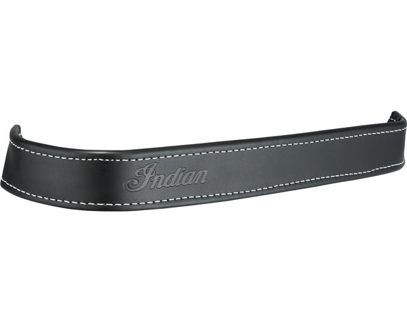 Genuine Leather Floorboard Trim, Pair -Black