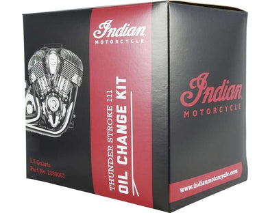 Thunder Stroke Oil Change Kit 5.5 Qt by Indian Motorcycle®