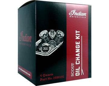 Scout® Oil Change Kit 15W-60 4 Qt by Indian Motorcycle®