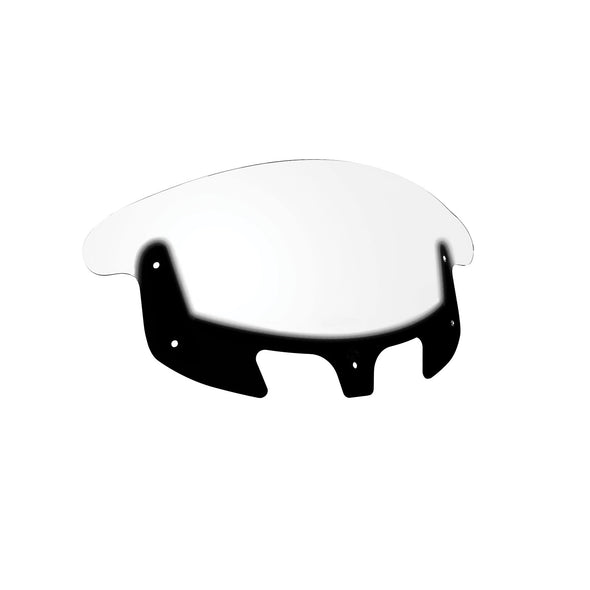 Polycarbonate 13.7 in. Flare™ Windshield -Clear