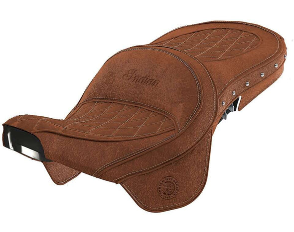 Genuine Leather Touring Heated Seat -Desert Tan