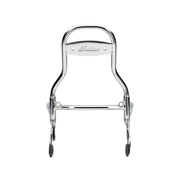 Steel 12 in. Quick Release Passenger Sissy Bar -Chrome