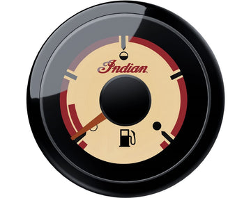 Beige Dial Face Fuel Gauge - Gloss Black by Indian Motorcycle®