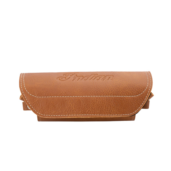 Genuine Leather Windshield Bag -Desert Tan