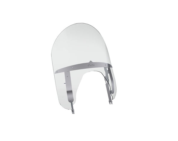 Polycarbonate 21 in. Quick Release Windshield -Clear