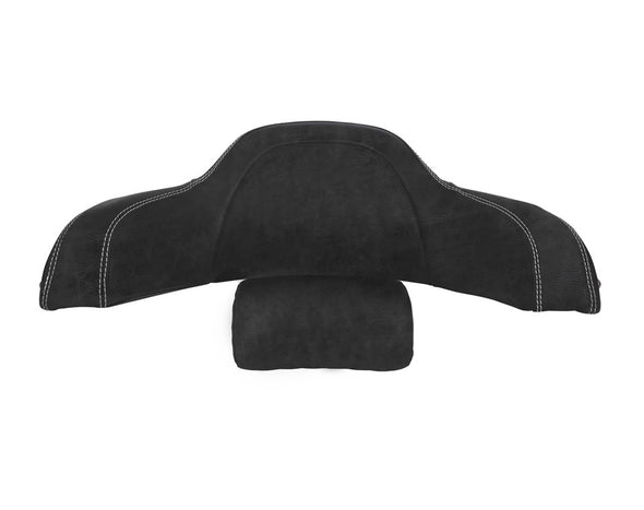 Trunk Passenger Backrest Pad -Black Leather