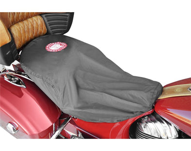 Indian Universal -Fit Half Seat Cover -Black