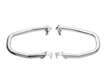 Steel Front Highway Bars, Pair -Chrome