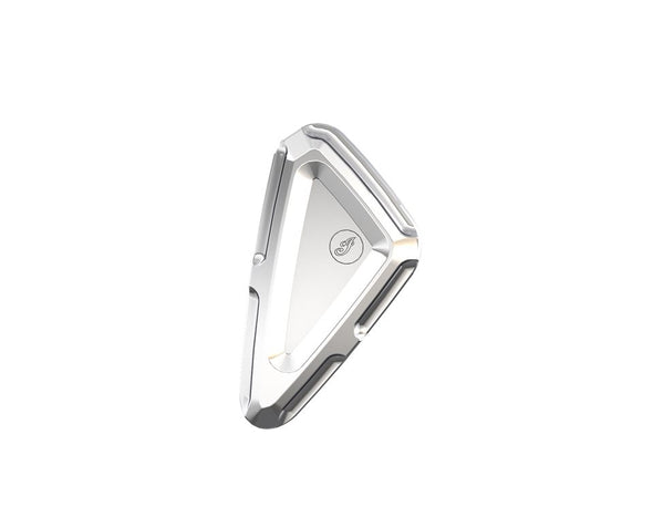Billet Aluminum Frame Neck Inserts -Chrome