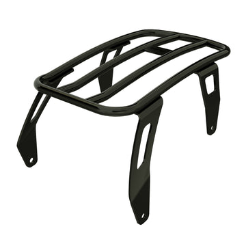 Solo Luggage Rack -Gloss Black