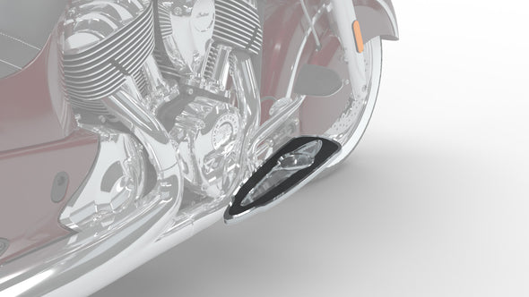 Select Rider Floorboards, Pair -Chrome